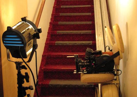 Film Retreat Rapture 16mm chair lift shot
