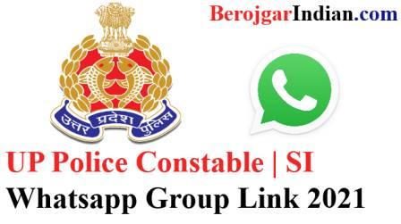 Latest UP Police Constable Exam Bharti Telegram WhatsApp Group link 2021