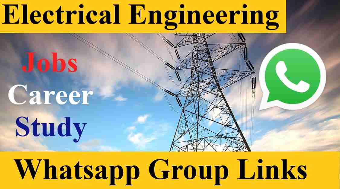 Best Gate ITI Electrician Jobs Electrical engineering Whatsapp Group Invite Link 2021