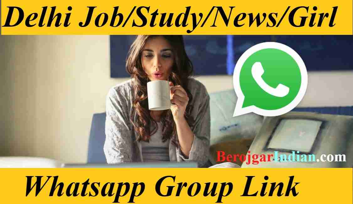 Delhi NCR Jobs News Girls Girl Study Dating Whatsapp Group join link 2021