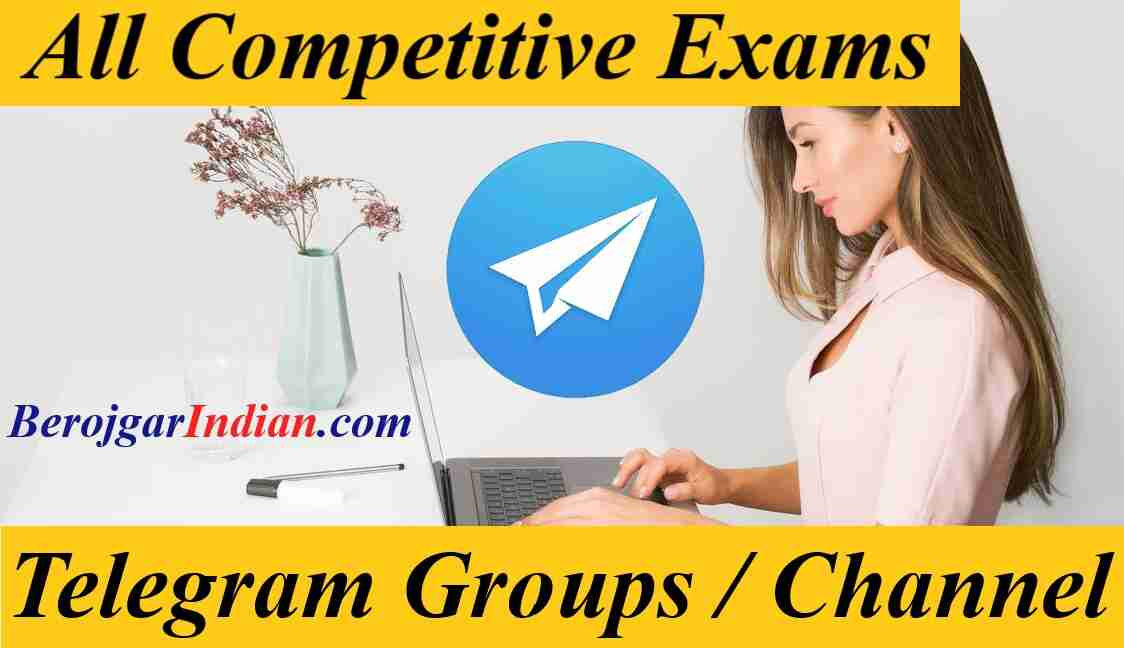 All Govt Competitive exams preparation telegram group channel link join 2021