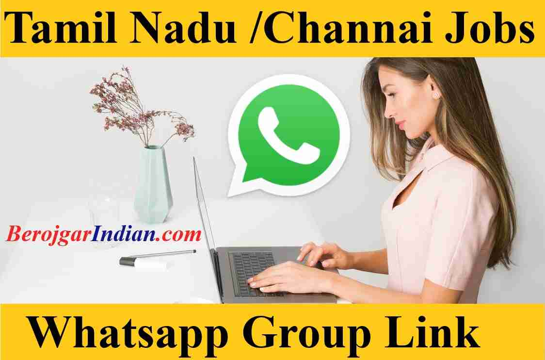 Tamilnadu tn Chennai govt private jobs whatsapp telegram group link 2021