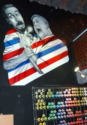 Graffiti Profesional en Peluqueras y barberas