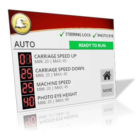 Eagle R2B2 HMI Customizable Screens