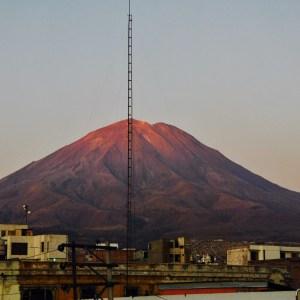 Volcan Mitsi, Arequipa