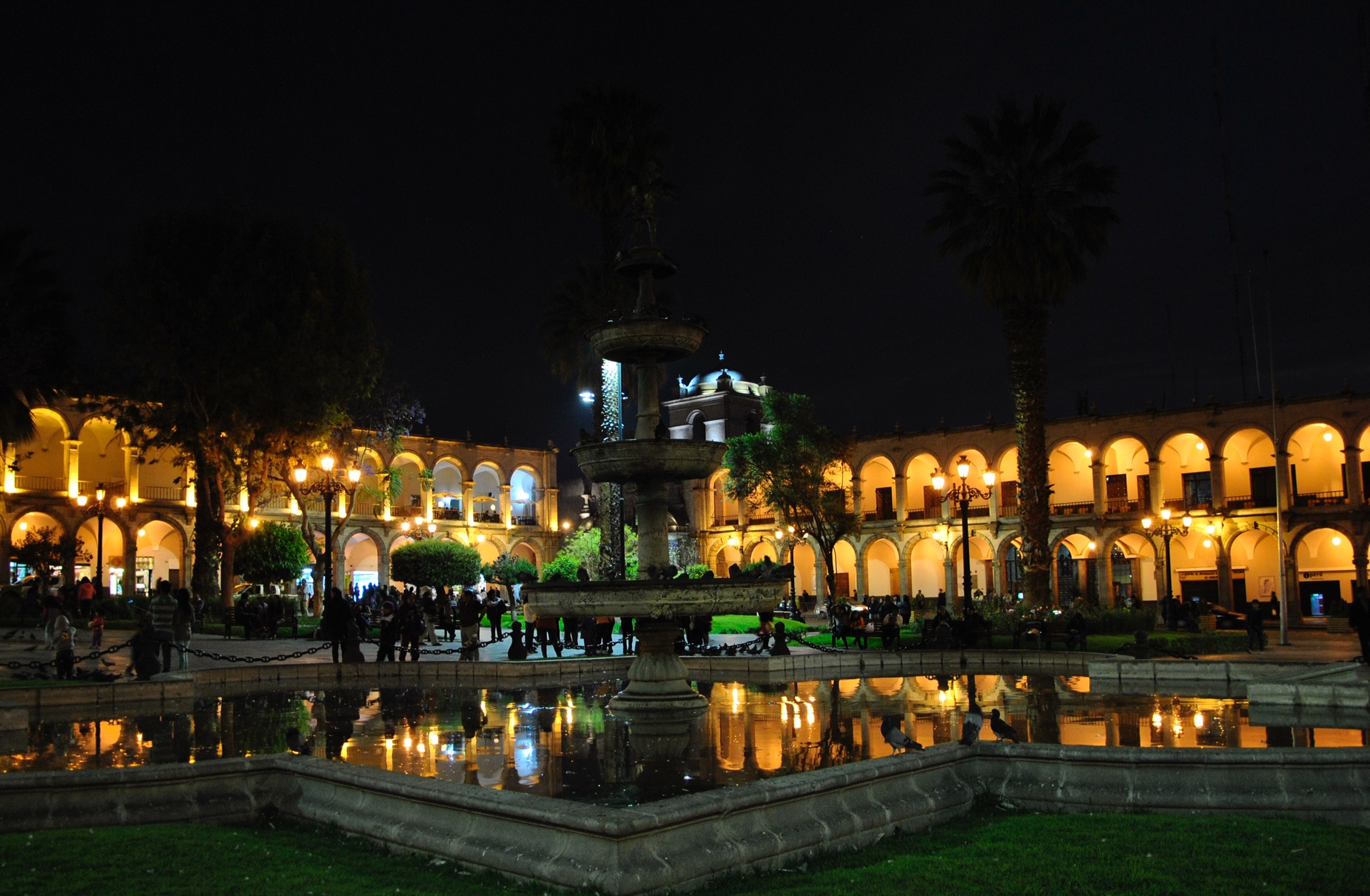 Plaza de Armas, Arequipa, Pérou