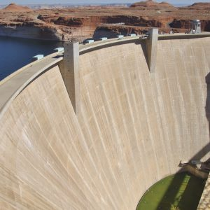 Glen Canyon Dam, Lake Powell, Arizona, USA
