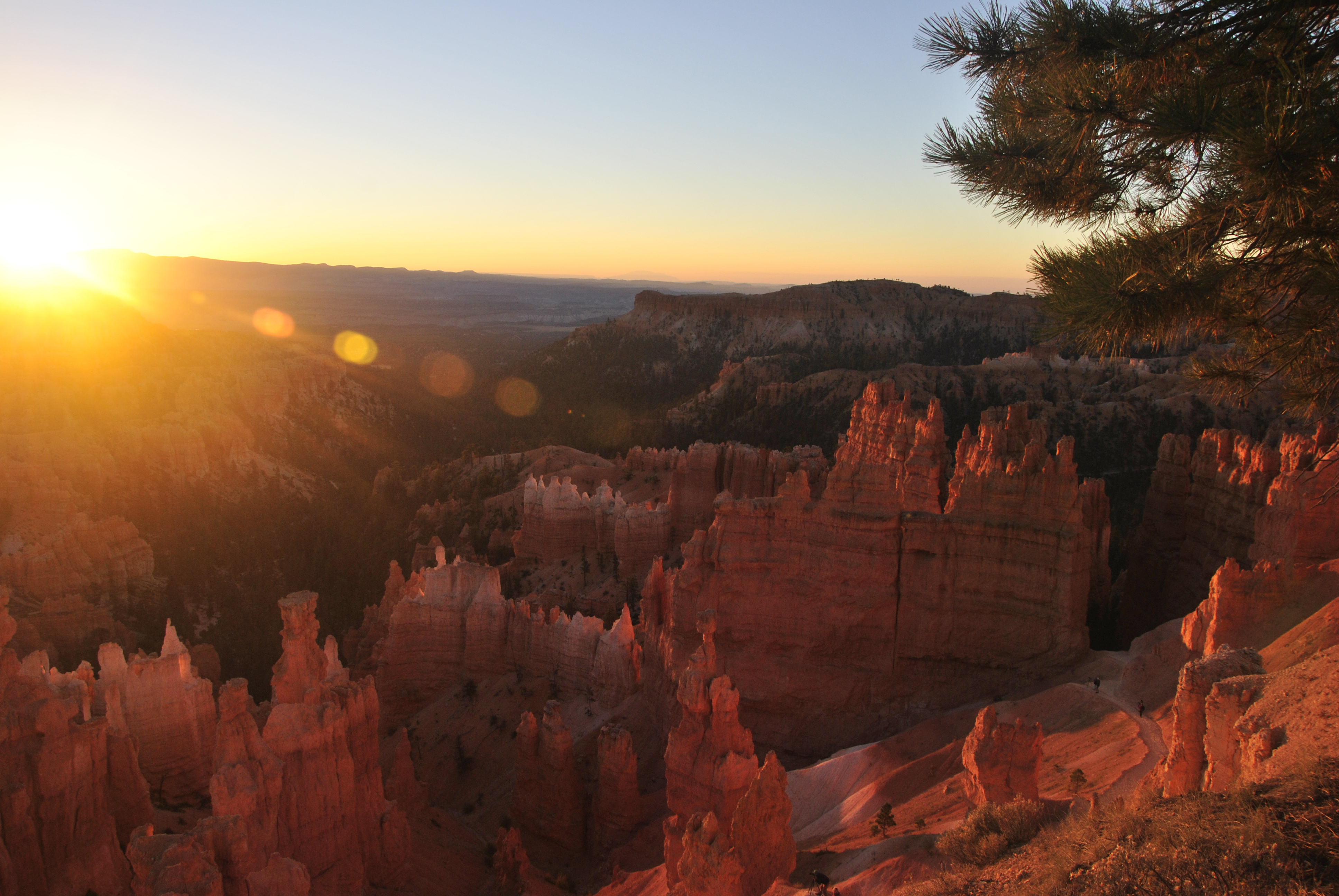 Sunset Point, Bryce Canyon NP, Utah, USA