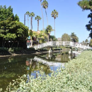 Venice Canals, Los Angeles, Californie, USA