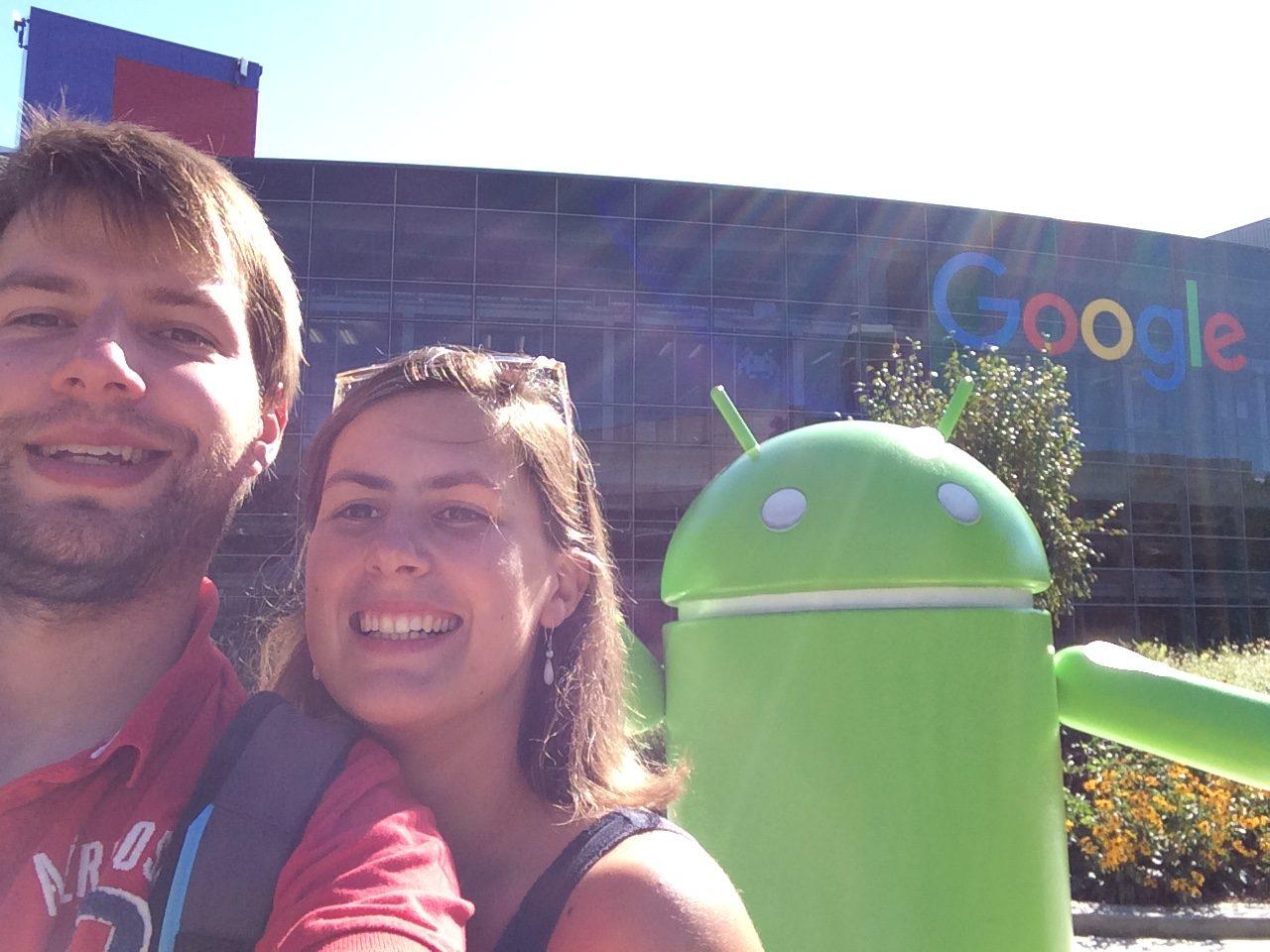 Google Campus, San Fransisco, Californie, USA