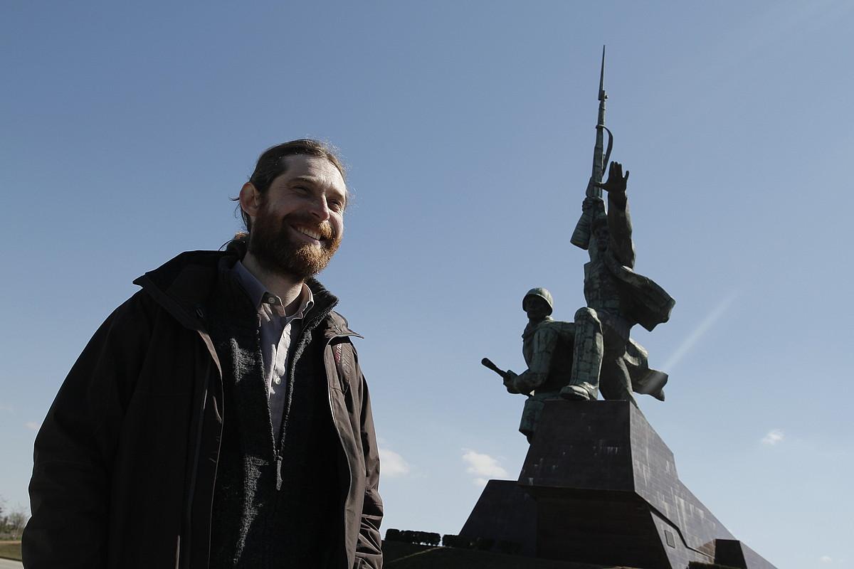 Kharkov hiritik ihes egin zuen Jurik Krimeara. Ekialdean dago, eta Kieven ondoren, Ukrainako hiri handiena da.