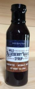 Wild Blueberry Maple Syrup