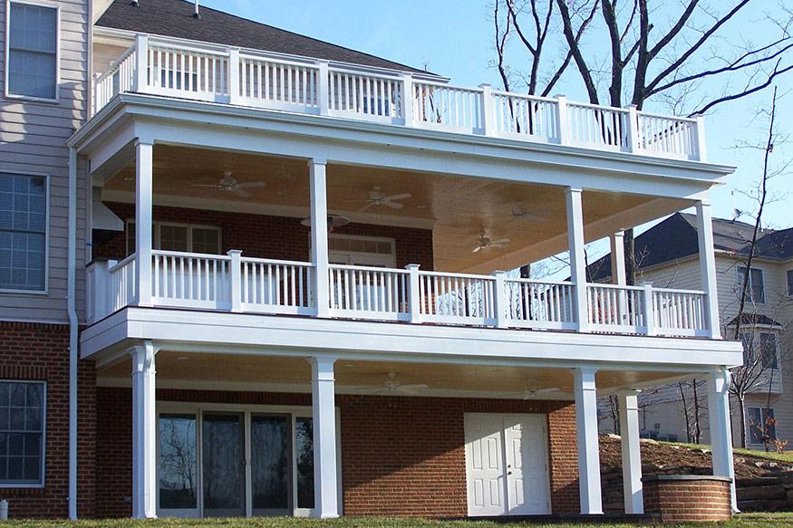 Wraparound IPE Deck Installation in Great Falls VA by
