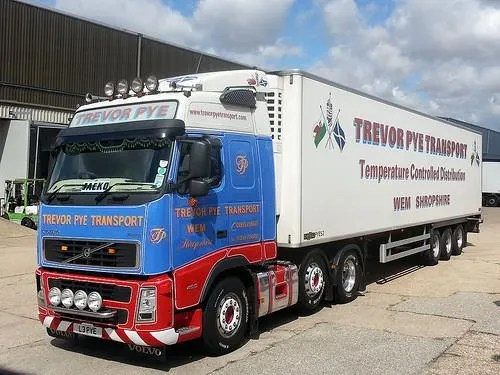 Trevor Pye Truck and Refrigerated Trailer