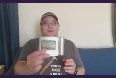 Andy B 2 Minute Video, Remote Controlled Alarm Clocks and the Holy Spirit