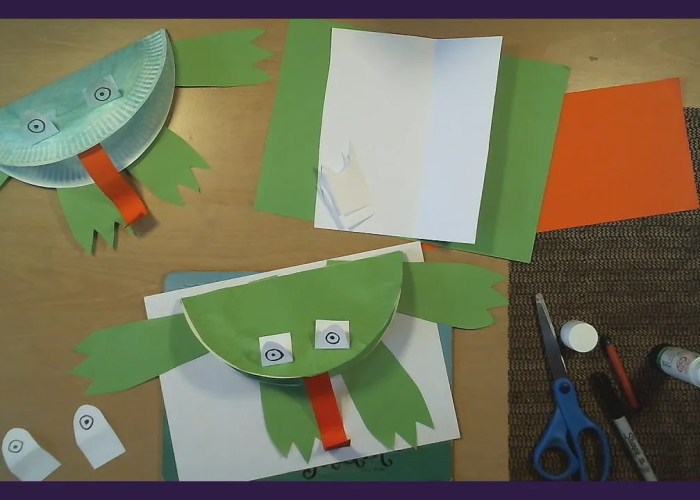 Art Time with Jo Jo: Paper Plate Frog