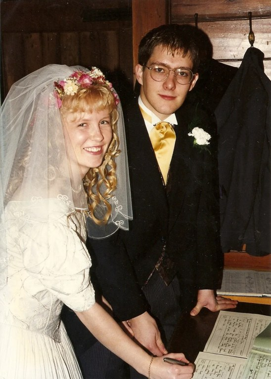 Wedding Photo, Andy and Jo