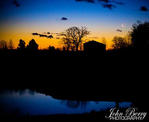 Moonrise at Sunrise