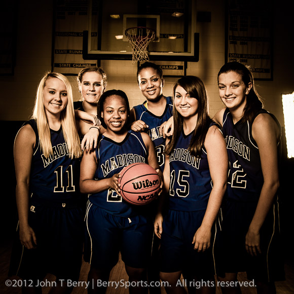 MCHS Varsity Girls Basketball 2012-2013