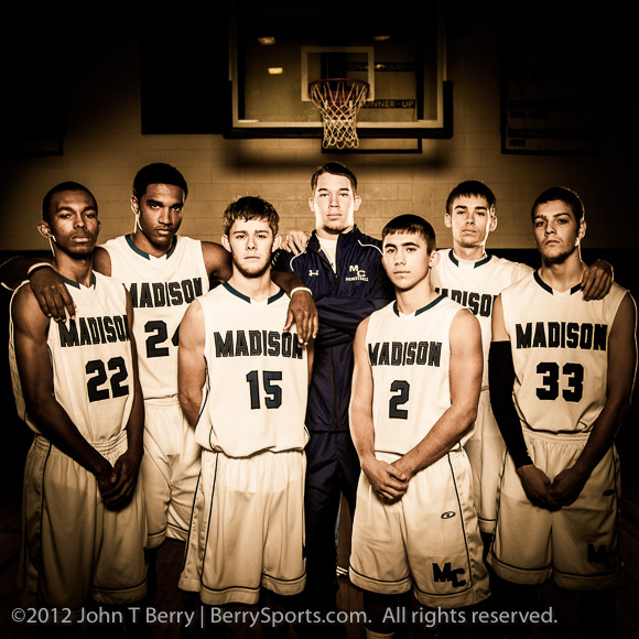 December/21/12:  MCHS Winter Sports Team Photos.  Boy's Varsity Basketball.