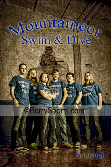 MCHS Swim & Dive Poster 2014