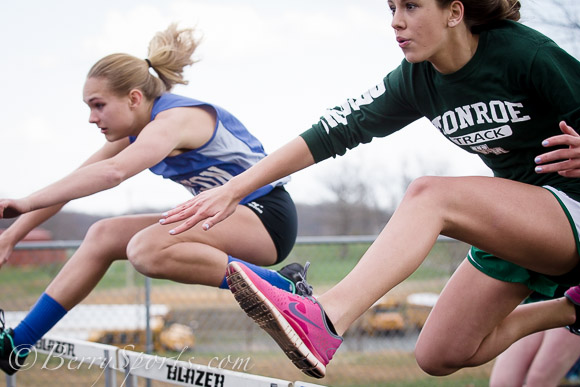 April 09, 2014.   MCHS Track and Field vs William Monroe