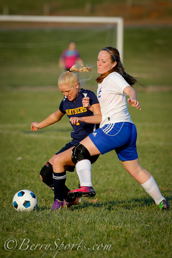 April 09, 2014.   MCHS Varsity Girls Soccer vs Rappahannock