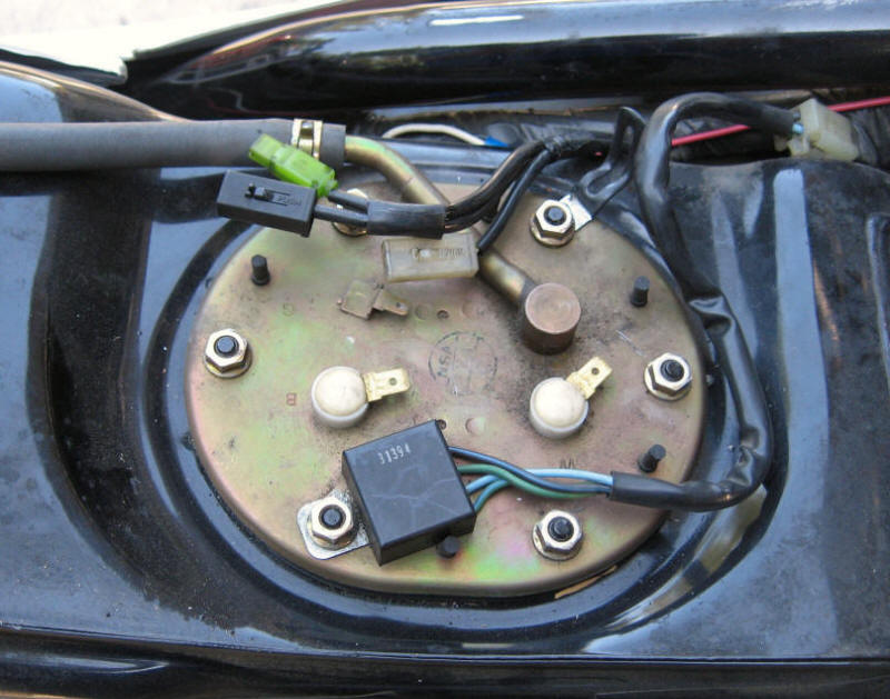 97 Honda Accord Fuel Pump Location