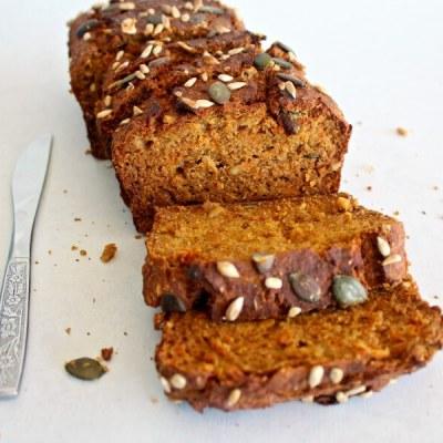 Honey Butternut Carrot Bread