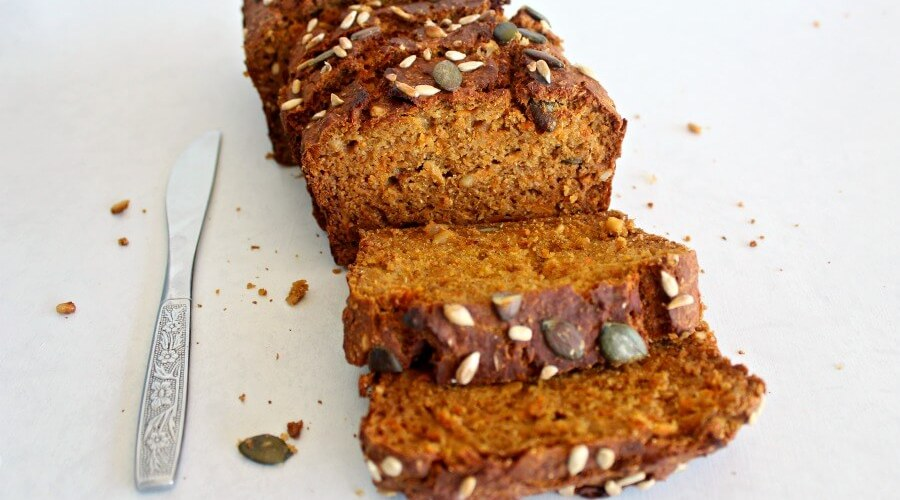 Honey Butternut Carrot Bread