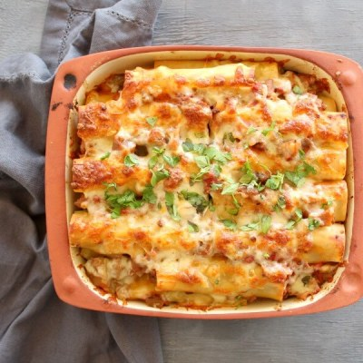 Easy Aubergine Beef Cannelloni
