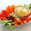 5 Minute Spicy Paprika Tahini Hummus