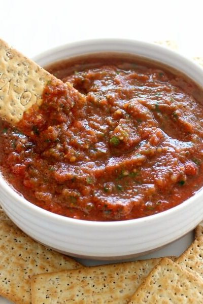 Favourite Homemade Tasty Tomato Salsa