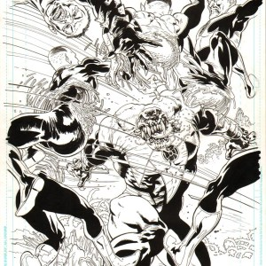 Andrei Bressan – Green Lantern: New Guardians 14pg12 Splash Comic Art