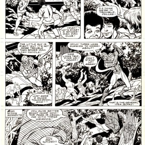 Alan Kupperberg � Marvel team up 96p22 � Spiderman Comic Art