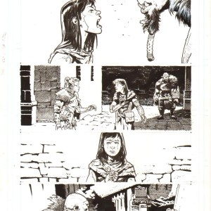 Andrei Bressan – Birthright 11p22 Comic Art
