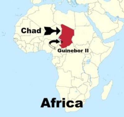 Chad & Guinebor II in Africa