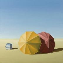Smitten, Oil painting, 49 x 49 cm