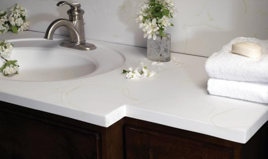 Latest Marble Bathroom Vanity Tops Sink Countertop