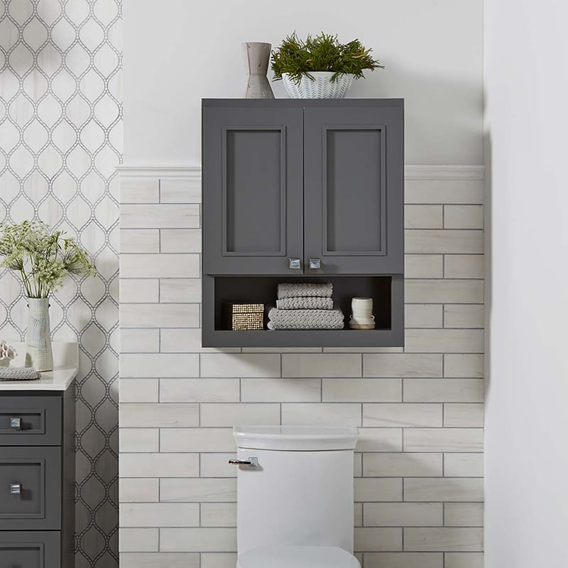 Wall Cabinet  Bathroom Storage  Bertch Cabinet Manufacturing