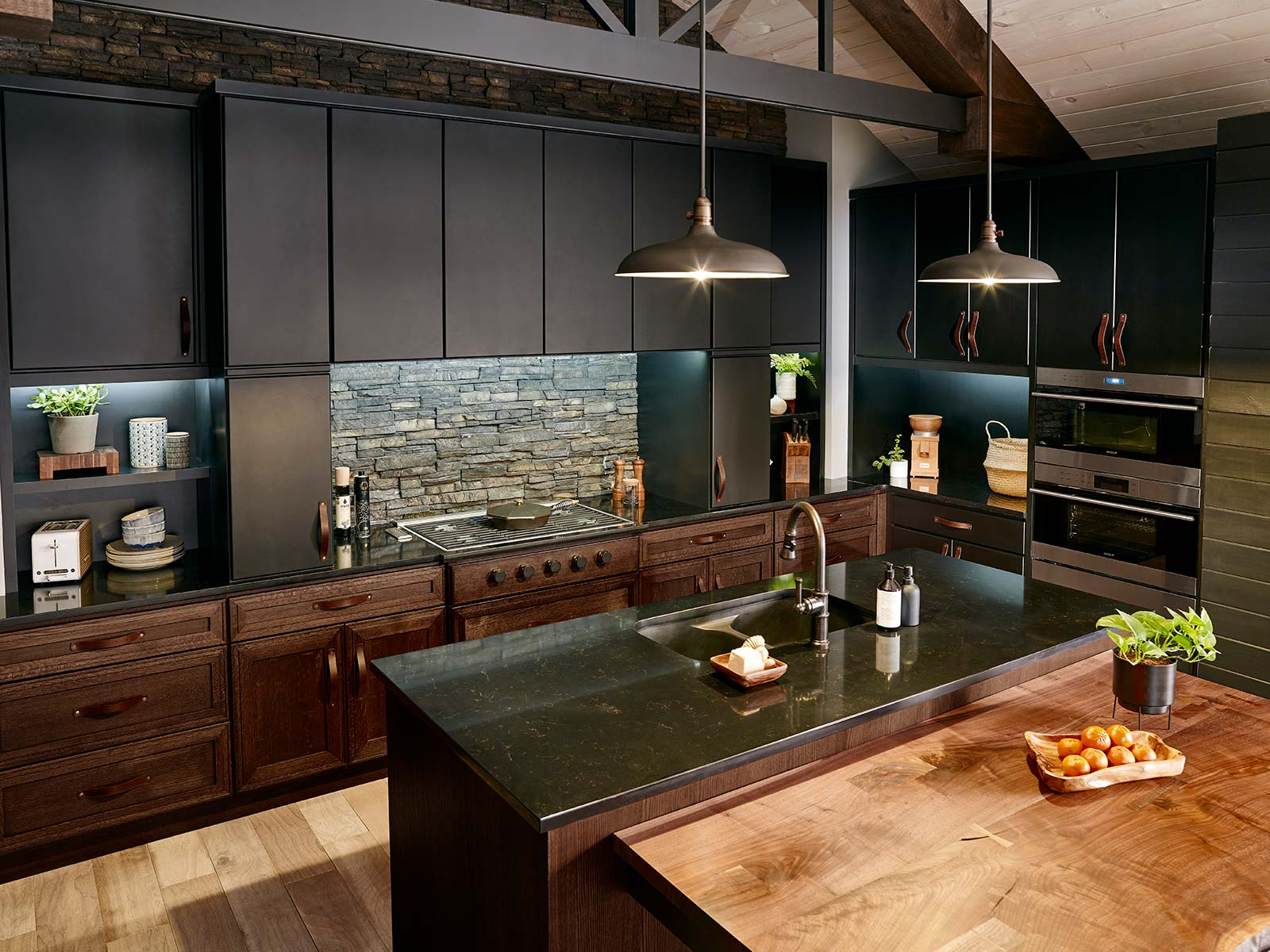 kitchen closets cabinets styles cabinet woods and finishes bertch manufacturing modern oak