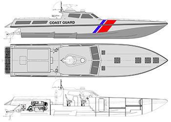 commercial boat design lifeboat