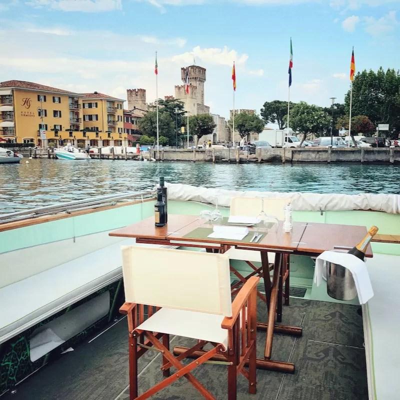 Bootstour Mit Dinner Auf dem Gardasee  Bertoldi Boats