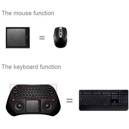 GP800 Mini tastiera wireless