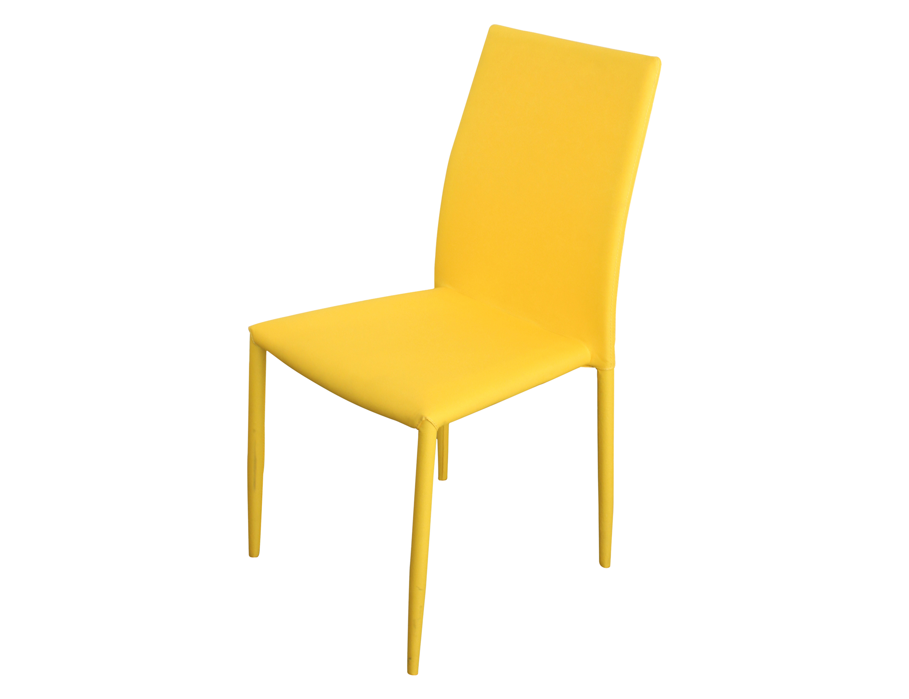 yellow upholstered dining chairs wobble chair for sale sven berton furniture