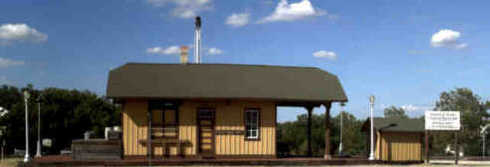 Bertram Train Depot