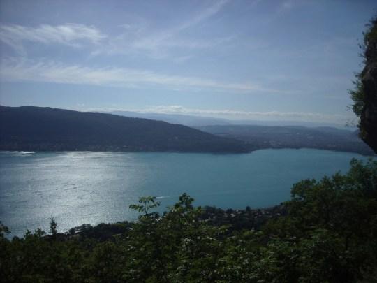 La lac d'Annecy depuis les Grandes Suites
