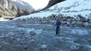 A saute mouton dans le Val Veny