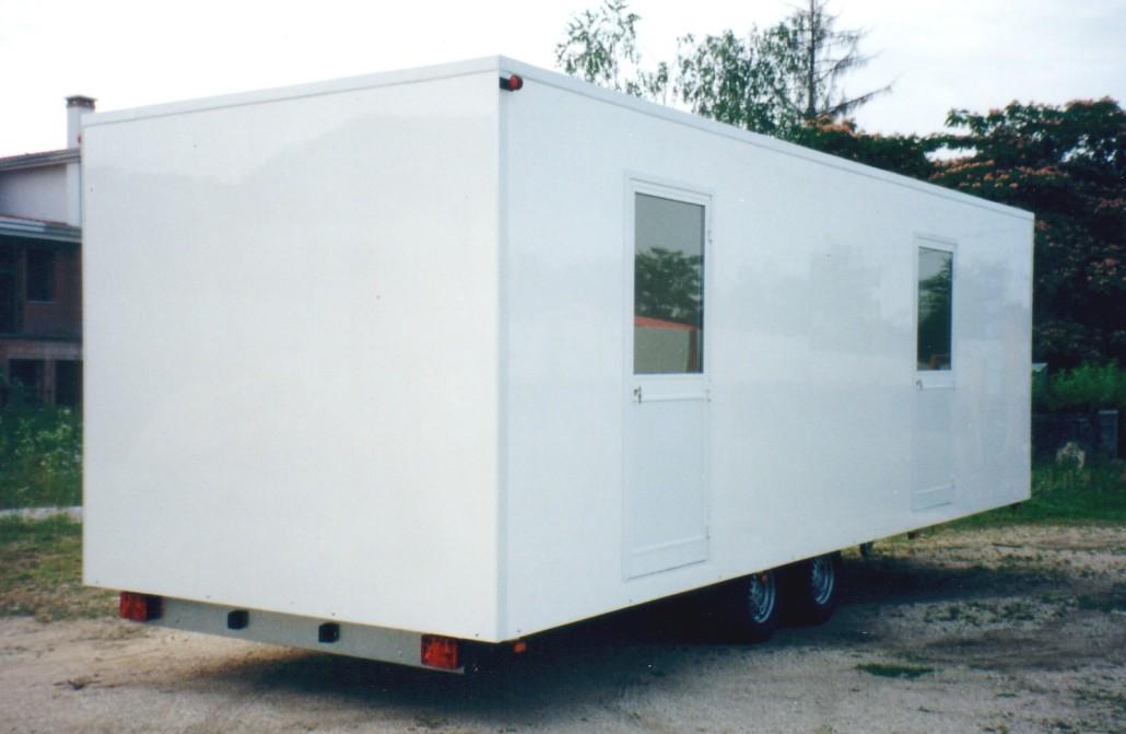 Cube  case mobili su ruote omologate  Bertuola Trailer srl