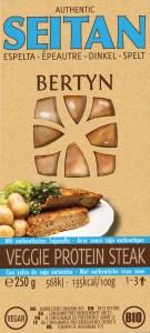 Bertyn Veggie Protein Seitan steak: 250g - Spelt